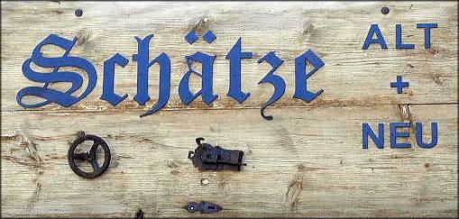 <h2>Schätze ALT + NEU</h2><p>  </p><a title='Tränkgasse 10' href='http://mittner.de/?page_id=538'>mehr</a>